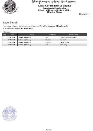 Виза в Бутан для украинцев